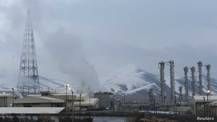 FILE - A general view of the Arak heavy-water project, 190 kilometers (120 miles) southwest of Tehran.