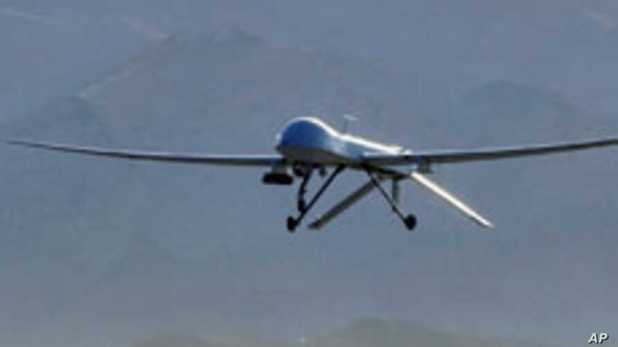 An MQ-1 Predator unmanned aerial vehicle takes off from Creech Air Force Base, Nev., for a training sortie over the Nevada desert, USA (file photo)