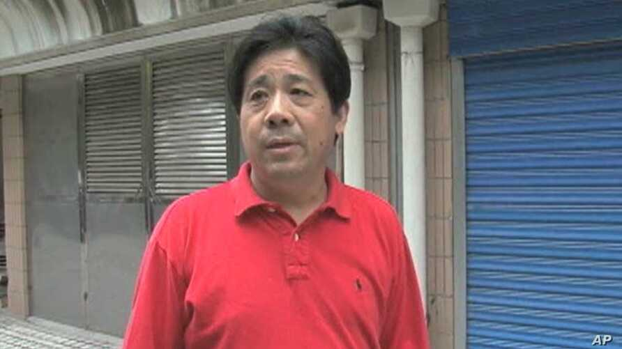 Chinese dissident writer and human rights activist Feng Zhenghu
