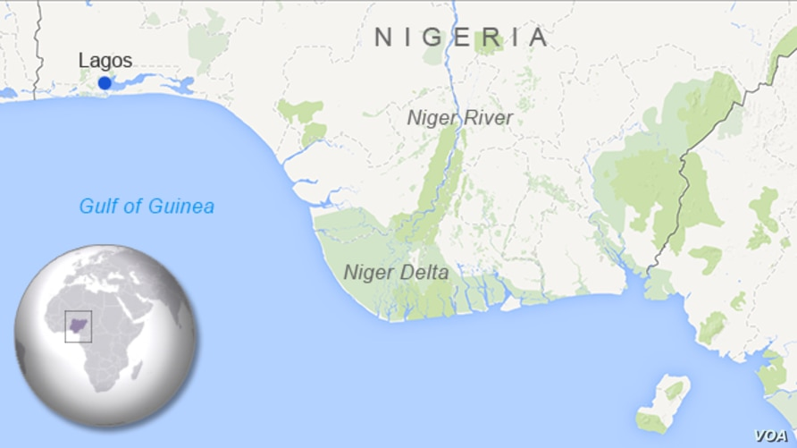 The Niger Delta, in Nigeria