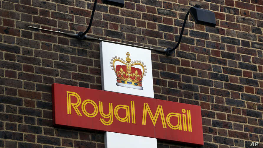 A Royal Mail Post Office is seen in London, Thursday, Oct. 10, 2013. British Business Secretary Vince Cable defended the government's sale of a majority stake in Royal Mail on Wednesday, saying that more than 700,000 retail investors have sought shar