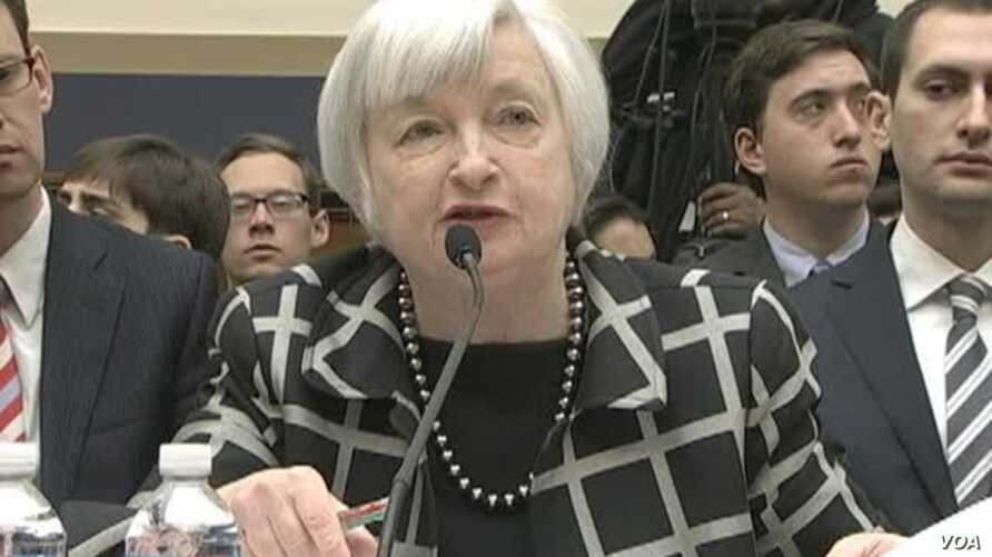 Yellen Says Fed Will Stay On Current Course