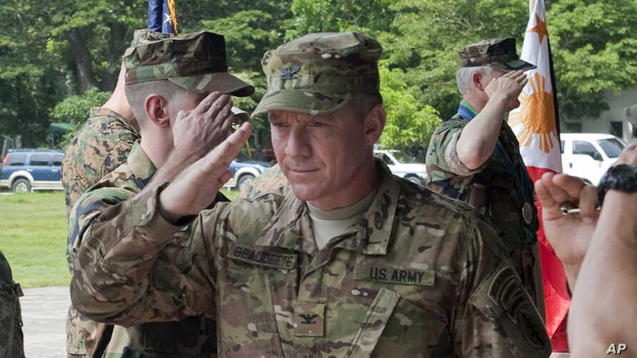 U.S. Army Col. Fran Beaudette, Commander, Joint Special Operations Task Force – Philippines (file photo)