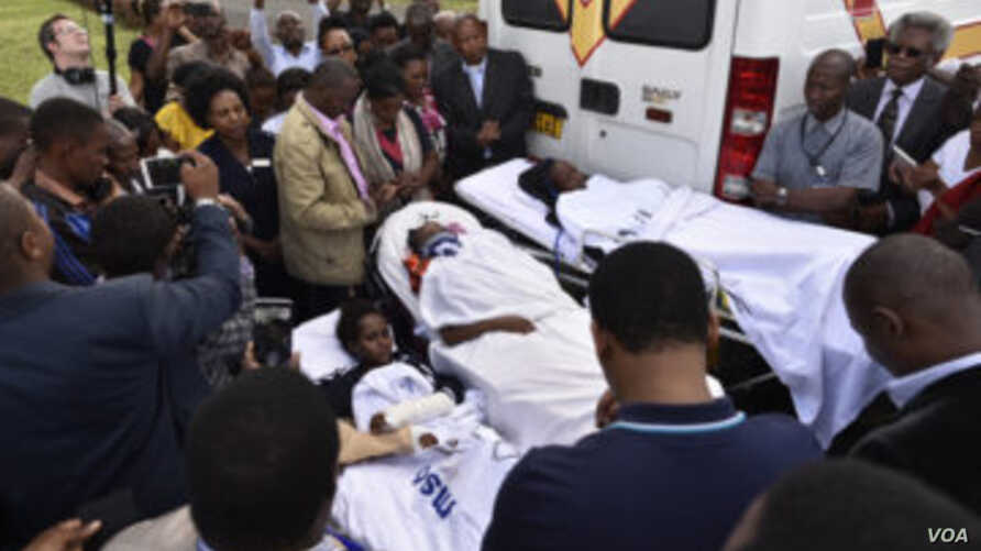 The three survivors of the Tanzania bus crash were the focus of much prayer and media attention before leaving their home country for the United States for surgery. (Photos courtesy of Samaritan's Purse)