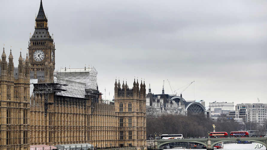 Britain's Parliament buildings in London, March 10, 2017. For the first time since World War II, lawmakers may have to move out so that repair work can be done.
