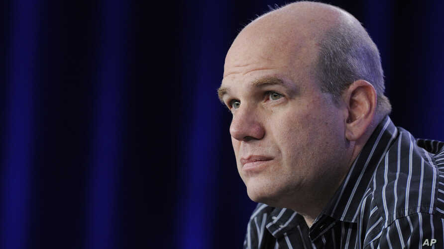 "File - David Simon, creator and executive producer of the HBO series ""The Wire"" - set in Baltimore, Maryland - is condemning the violence, rioting and looting in the wake of the death of 25-year-old African American Freddie Gray in early April 2015."