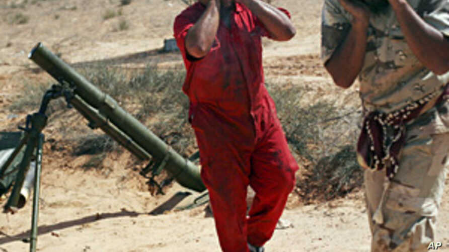Libyan Forces Capture Parts of Key Gadhafi Stronghold