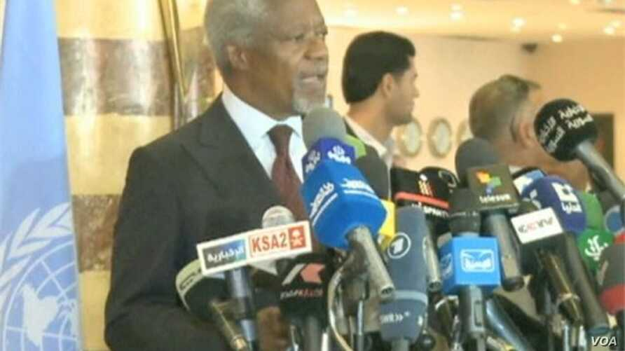 Peace Envoy Visits Syria, Violence Continues