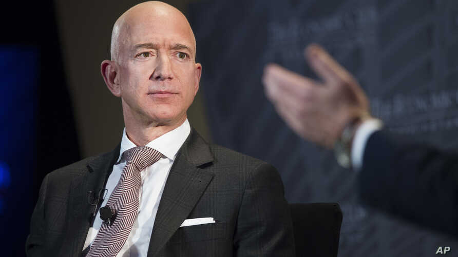 FILE - Jeff Bezos, Amazon founder and CEO.