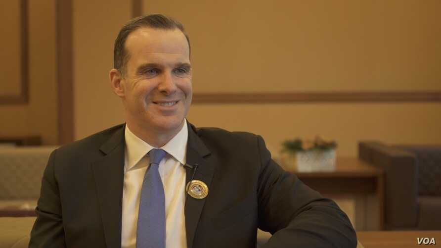 Brett McGurk, the U.S. special presidential envoy for the