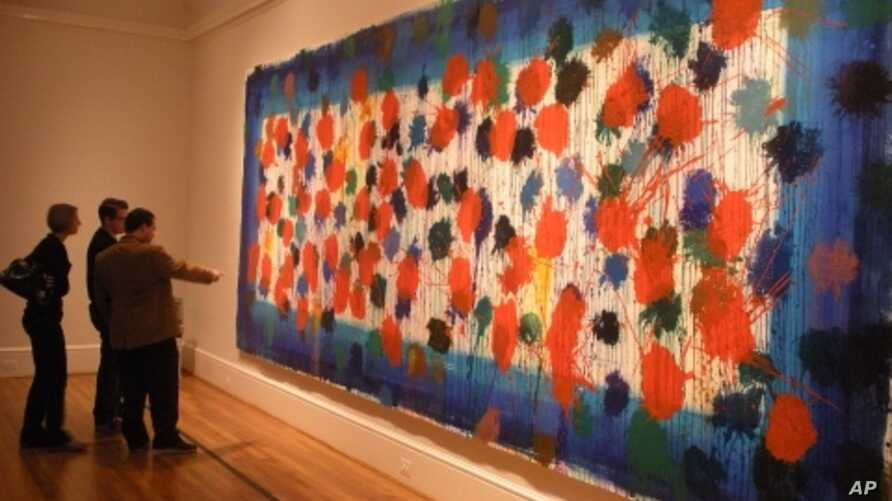 Howard Hodgkin's 'As Time Goes By,'  is one of the Phillip