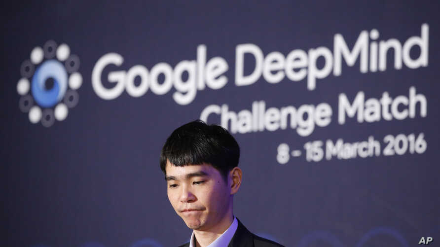 South Korean professional Go player Lee Sedol attends a press conference after his third match loss to Google's artificial intelligence program, AlphaGo, at the Google DeepMind Challenge Match in Seoul, South Korea, March 12, 2016.