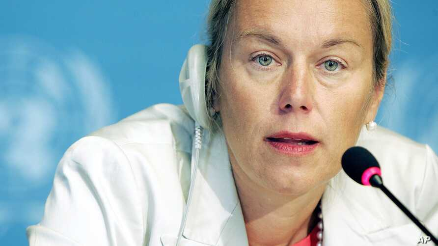 (File) Sigrid Kaag will coordinate the joint U.N.-Organization for the Prohibition of Chemical Weapons (OPCW) mission to eliminate Syria's chemical weapons.
