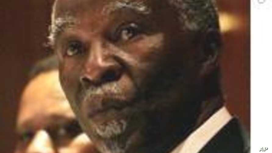 Mbeki Panel: Only Sudan Can Solve Darfur's Troubles