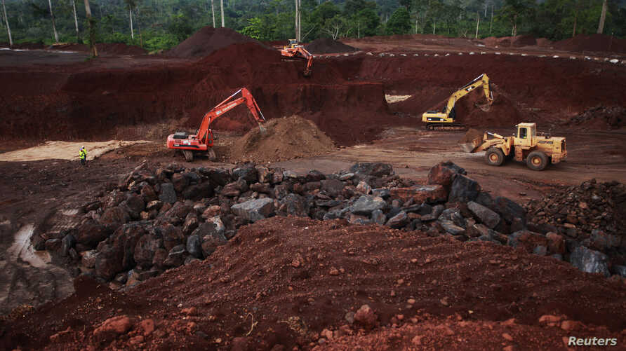 New Chinese investments in Ivory Coast's Lauzoua manganese mine re-opened the operation to quadruple production of the ore used to manufacture steel.