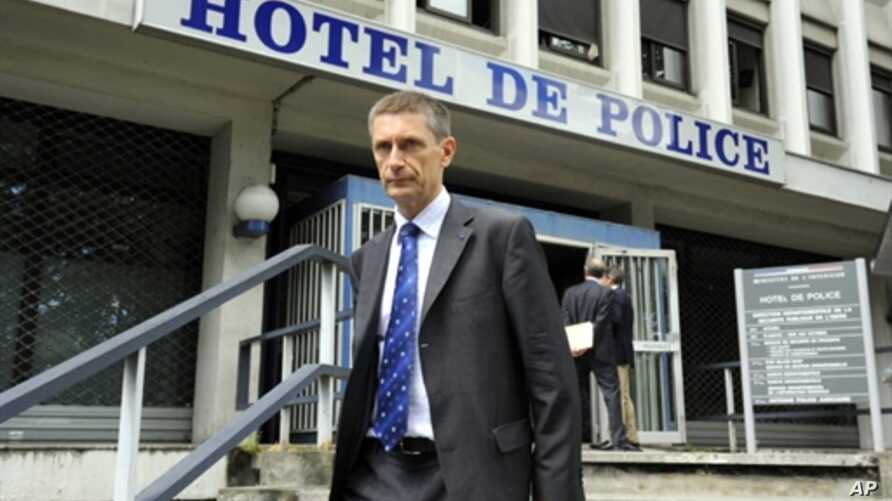 French national police director Frederic Pechenard, 30 July 2010