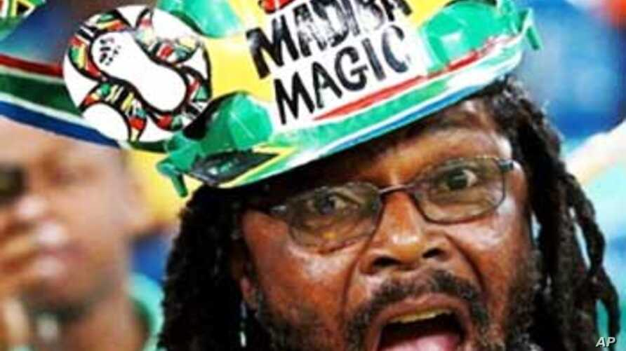 South African Football fans are famous for their eccentricity and their manic support for their national team, Bafana Bafana