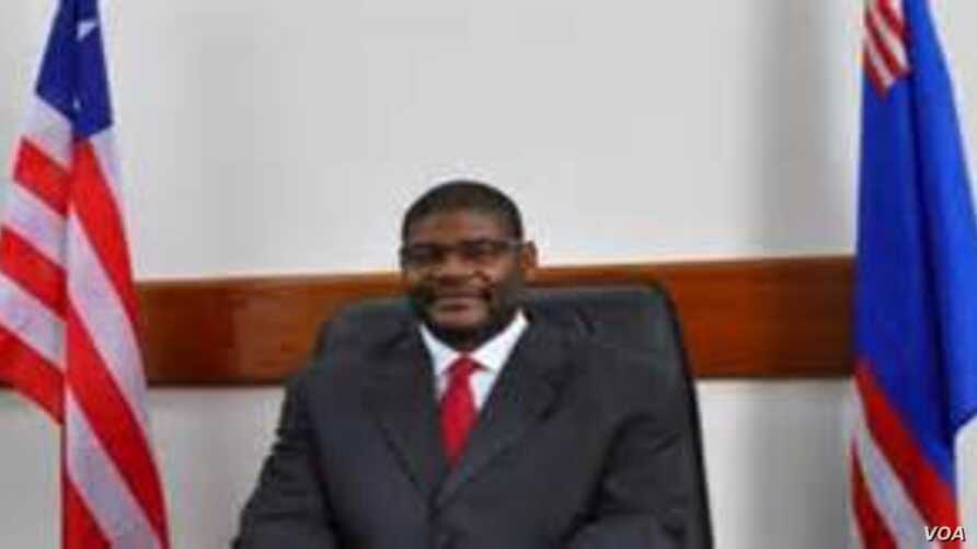 Outgoing Liberia Senate Leader Gbehzongar Findley