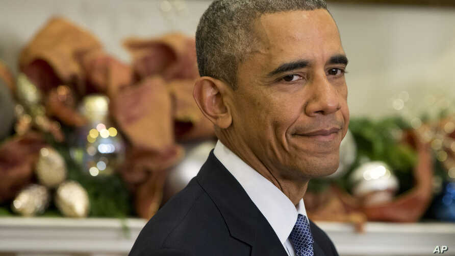 President Barack Obama underwent medical tests at a military hospital just outside Washington after complaining of a sore throat.