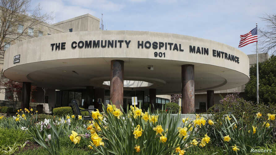 The exterior of Community Hospital, where a patient with the first confirmed U.S. case of the Middle East Respiratory Syndrome is in isolation, is seen in Munster, Indiana, May 5, 2014.