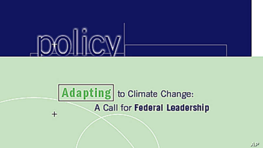Adapting to climate change is no longer an option.  It's a necessity according to the PEW Center on Global Climate Change.
