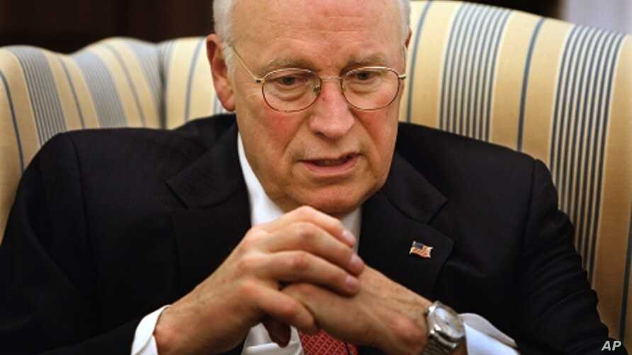 Former US Vice President Dick Cheney (file photo)