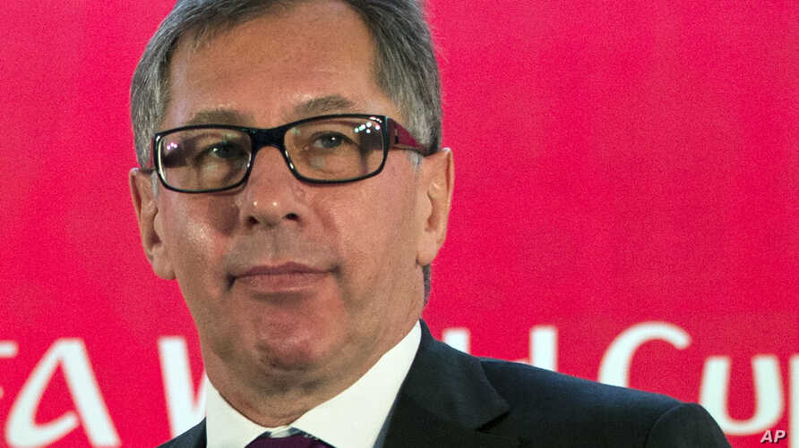 FILE - The head of Alfa Bank, Pyotr Aven, is pictured at a news conference in Moscow, Russia, July 18, 2016. Aven, a onetime Russian minister of foreign economic relations, has an estimated net worth of nearly $5 billion.