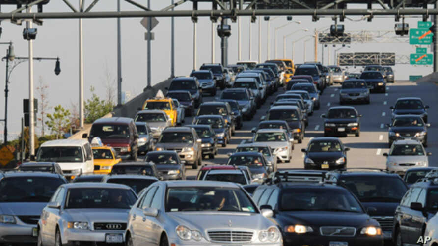 This is New York but, according to a new study, drivers in Beijing and Mexico City experience the world's worst traffic.