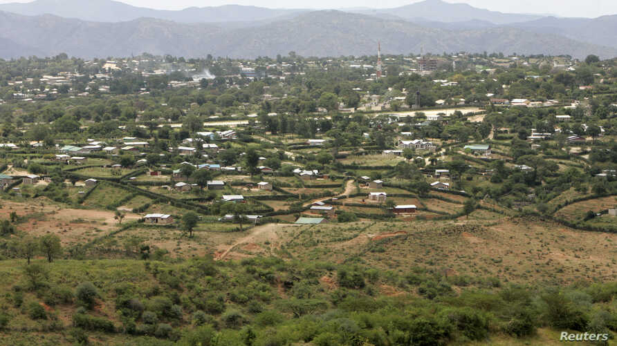 FILE — A view of Moyale, a town on the Ethiopia-Kenya bord