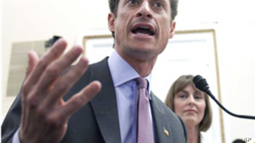 New York Democratic Representative Anthony Weiner