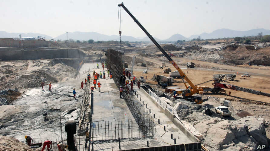 Ethiopia quietly began construction of the Grand Ethiopia Renaissance Dam two years ago. The hydroelectric power project plans to use the waters of Ethiopia's  Abbai River, which is the primary source of water for Sudan and Egypt. When this photograp