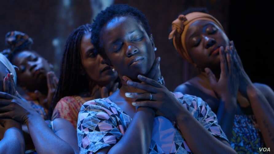 """Scene from """"The Baulkham Hills African Ladies Troupe"""", a new documentary featuring four refugee women."""