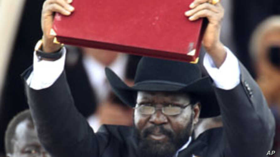 At Independence celebrations in the capital, Juba, South Sudan President pledged to combat corruption.