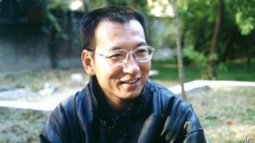 Chinese human rights activist Liu Xiaobo (File)