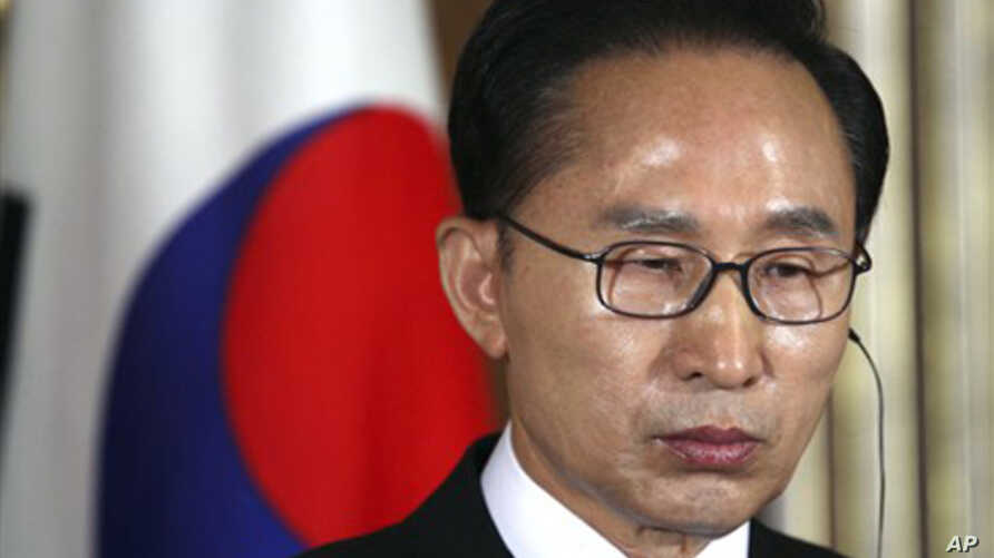 South Korea's President Lee Myung-bak (file photo)