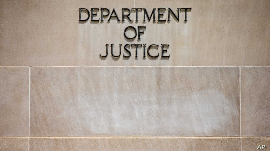 Robert F. Kennedy Department of Justice Building in Washington.