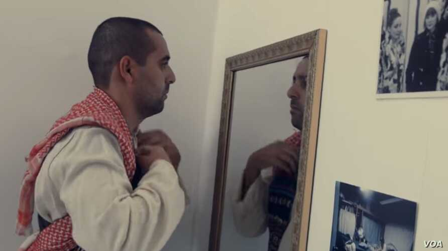 A scene from DAM's music video for 'Who You Are.'
