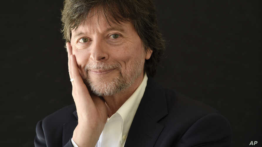 FILE - Ken Burns poses for a portrait during the 2017 Television Critics Association Summer Press Tour in Beverly Hills, Calif., July 28, 2017.