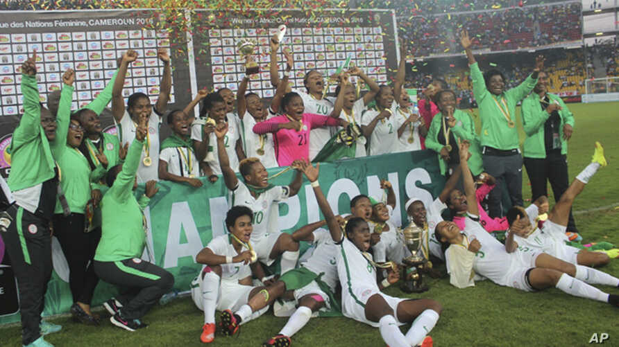 Nigeria Women Soccer Team  Africa Cup of Nation Soccer