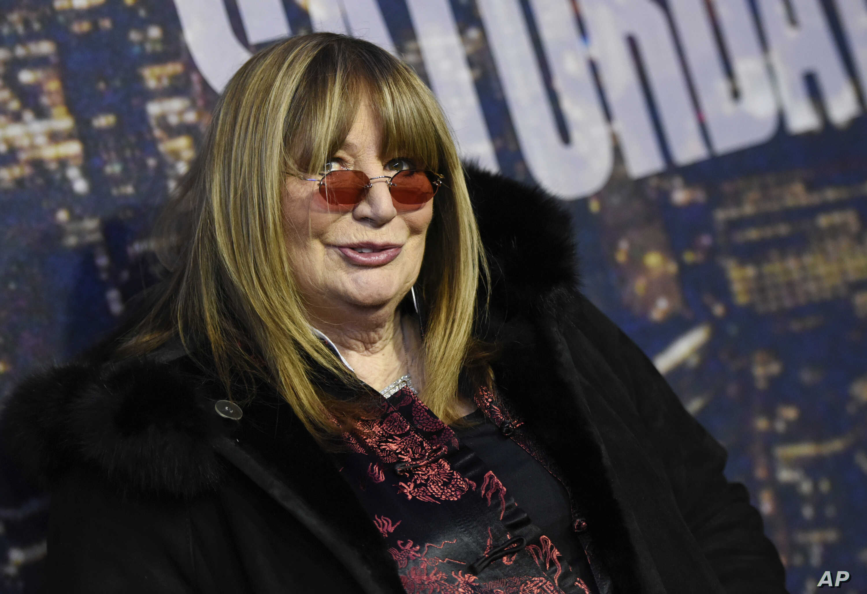FILE - Actress and director Penny Marshall attends the SNL 40th Anniversary Special in New York,  Feb. 15, 2015.