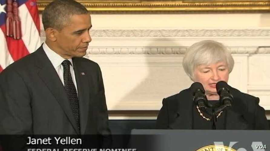 Obama Taps Yellen to Replace Fed Chief Bernanke