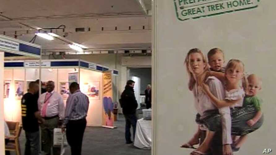 The South African organization, the Homecoming Revolution, hosts a job fair to lure London-based ex-patriots back to South Africa