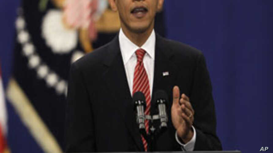 President Barack Obama speaks about his Afghanistan policy at the U.S. Military Academy at West Point, N.Y., 1 Dec 2009