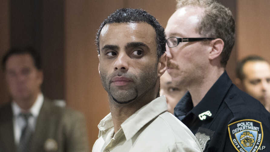 Oscar Morel appears in a Queens courtroom in New York, Aug. 16, 2016.
