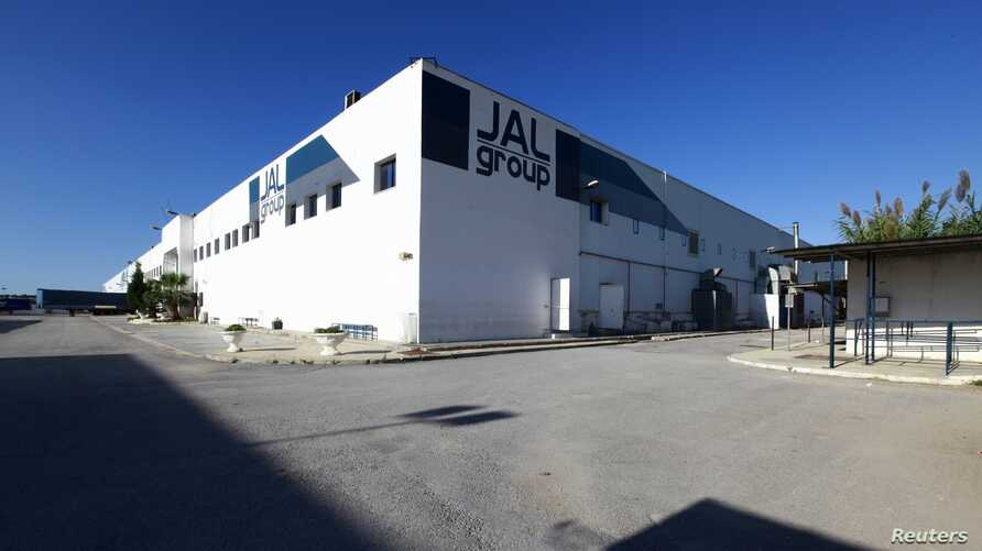 Factory of Italian JAL Group that makes safety shoes is seen after it closed down due to financial difficulties in Menzel Jemil, north of Tunis, Oct. 8, 2013.