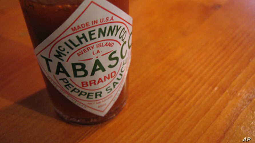 Just about every table in South Louisiana has three seasonings: a little salt, a little pepper, and lots of Tabasco sauce.