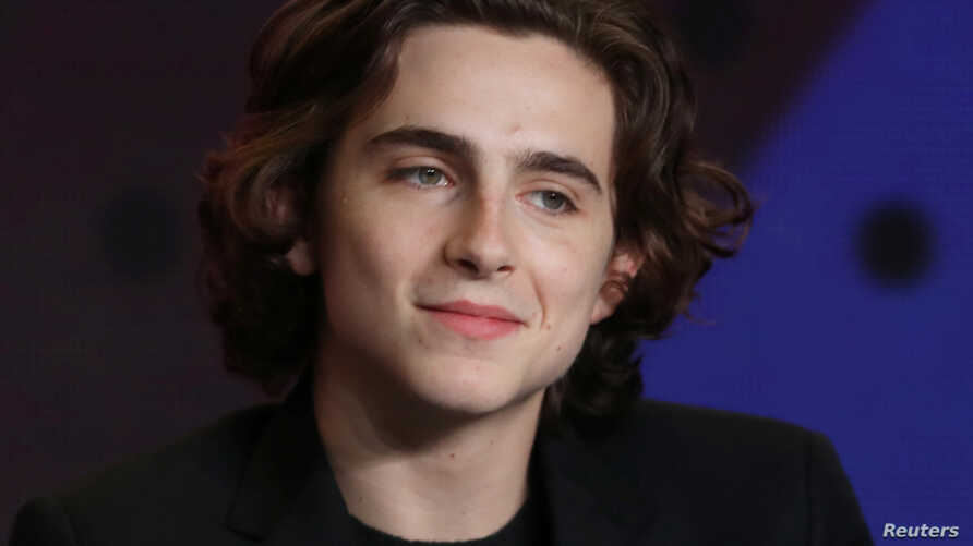 """Actor Timothee Chalamet attends a press conference to promote the film """"Call Me By Your Name"""" at the Toronto International Film Festival (TIFF) in Toronto, Sept. 8, 2017."""
