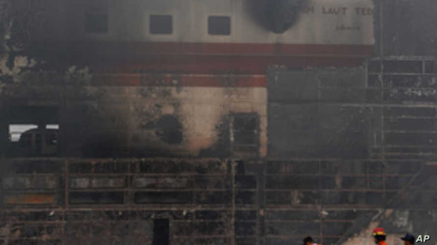 Scores Injured in Indonesia Train, Ferry Accidents