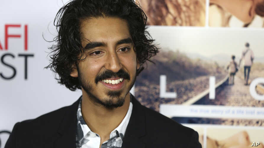 """Dev Patel arrives for the premiere of """"Lion"""" during the American Film Institute Fest in Los Angeles, Friday, Nov. 11, 2016."""