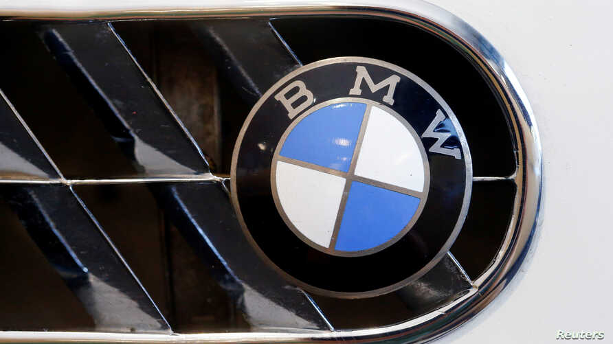 The logo of German manufacturer BMW is seen in Zurich, Switzerland, June 10, 2016.
